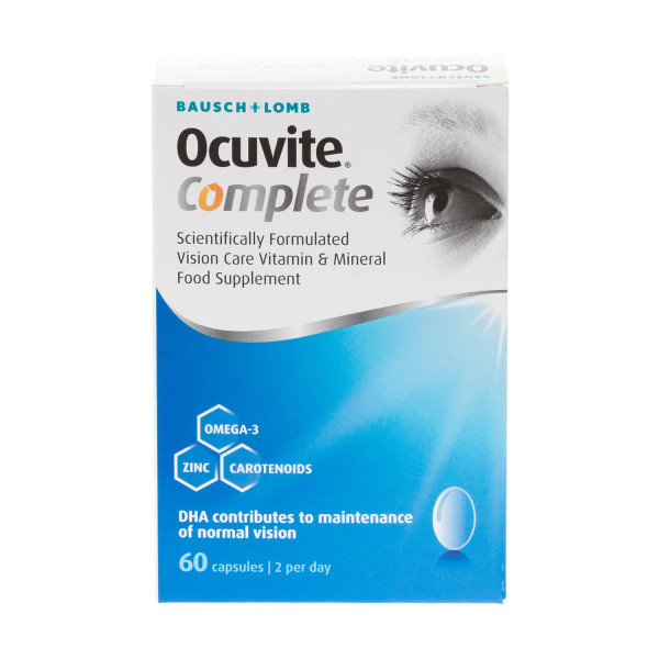 Bausch + Lomb Ocuvite Complete Capsules
