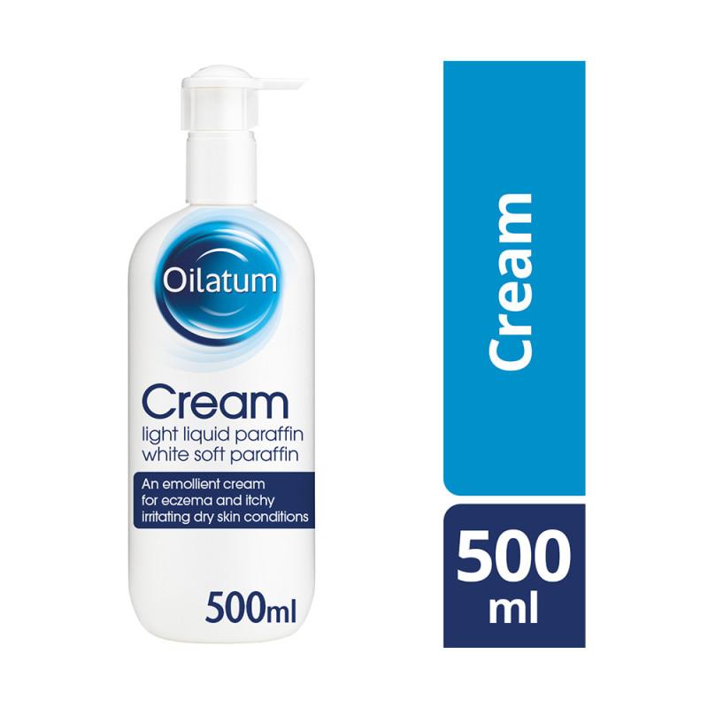 Oilatum Eczema Dry Skin Cream Fragance Free Emollient 500ml