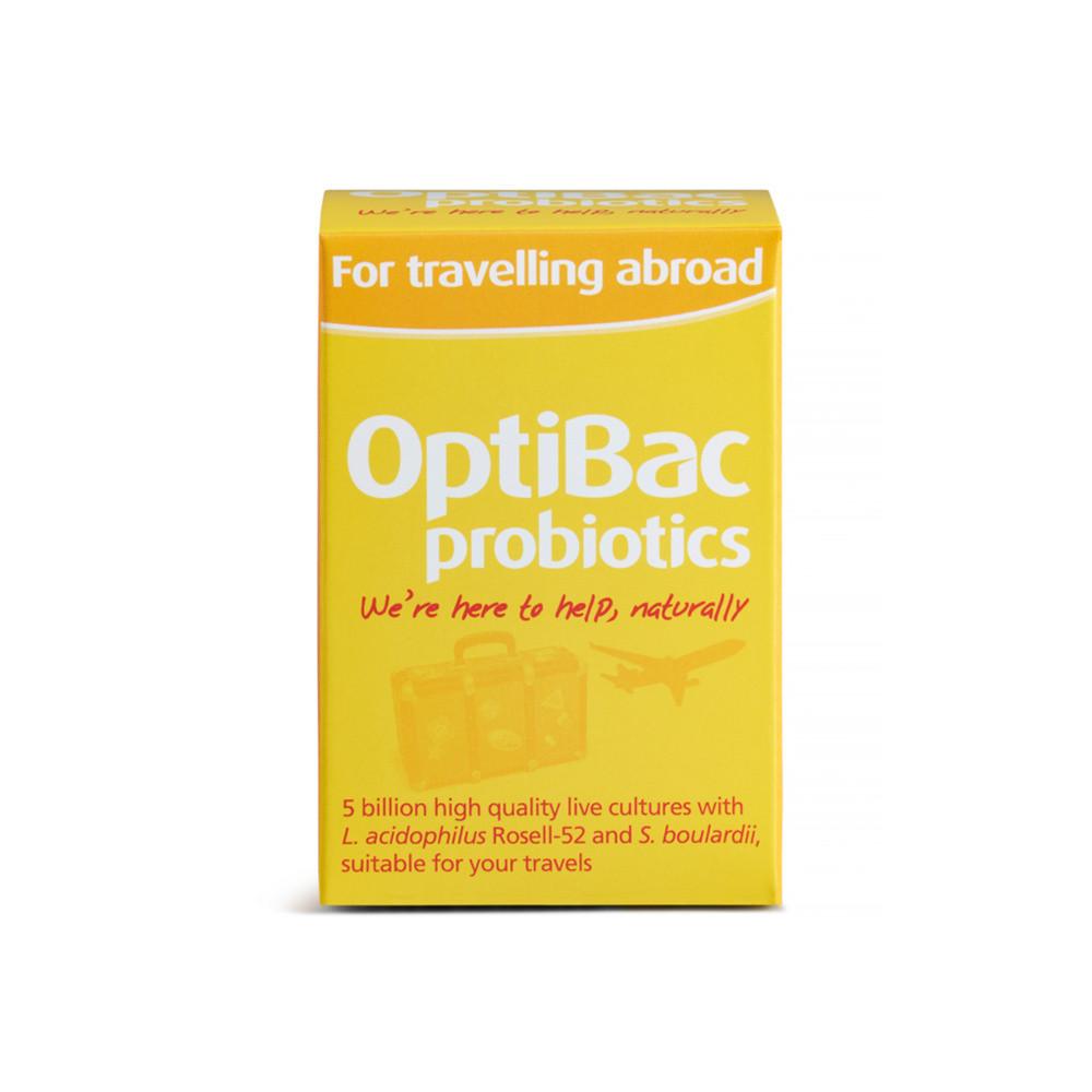 OptiBac Probiotics For Travelling Abroad