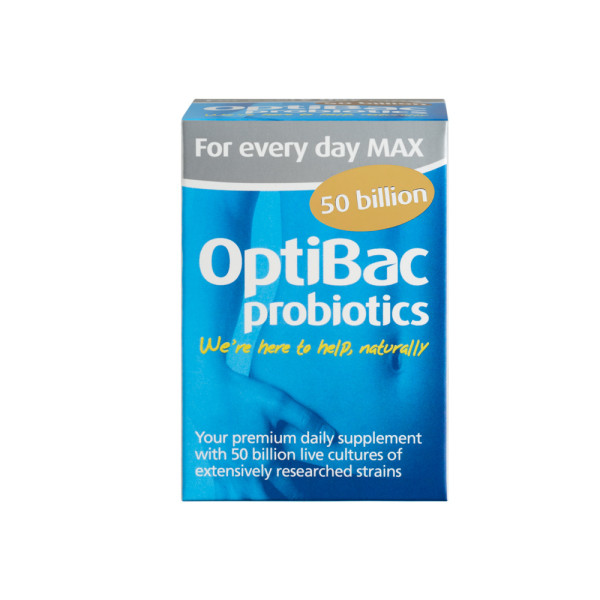 OptiBac Probiotics For Every Day Max 50 Billion