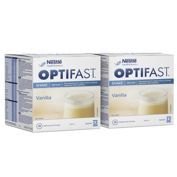 Optifast Instant Shake Vanilla Twin Pack