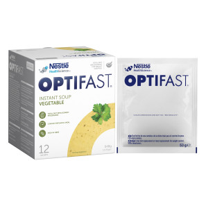 Optifast Instant Vegetable Soup Sachets