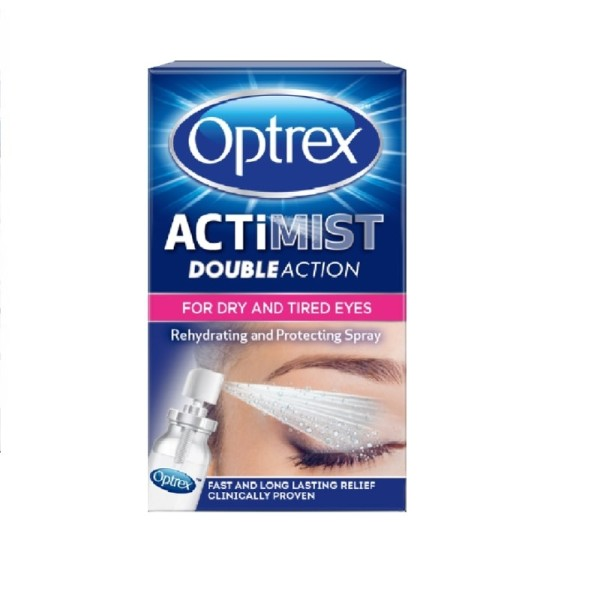 Optrex ActiMist 2 in 1 for Dry and Irritated Eyes
