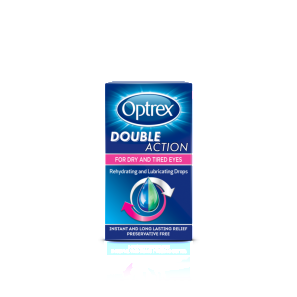 Optrex Double Action Drops for Dry and Tired Eyes