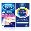 Optrex Eye Health Bundle; ProVision 30 capsules & ActiMist Double Action Spray for Dry & Tired Eyes