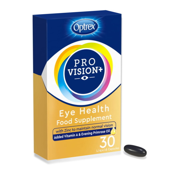 Optrex Provision Plus Eye Health Food Supplement EXPIRY MAY 2021