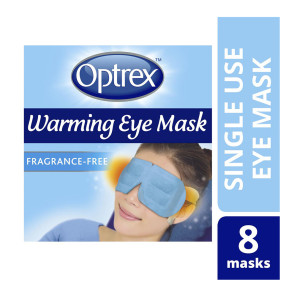 Optrex Unscented Warming Eye Mask 8s EXP OCT 19