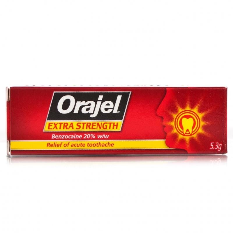 Orajel Maximum Strength Toothache Gel