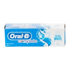 Oral-B Complete Toothpaste Extra White