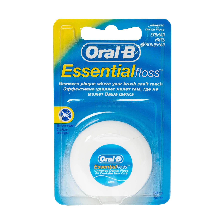 Oral-B Essential Unwaxed Dental Floss