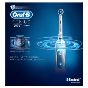 Oral B Genius 8000 Silver Electric Toothbrush