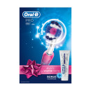 Oral-B Pro 650 Pink Electric Toothbrush Powered by Braun