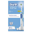 Oral-B Toothbrush Vitality Plus White & Clean