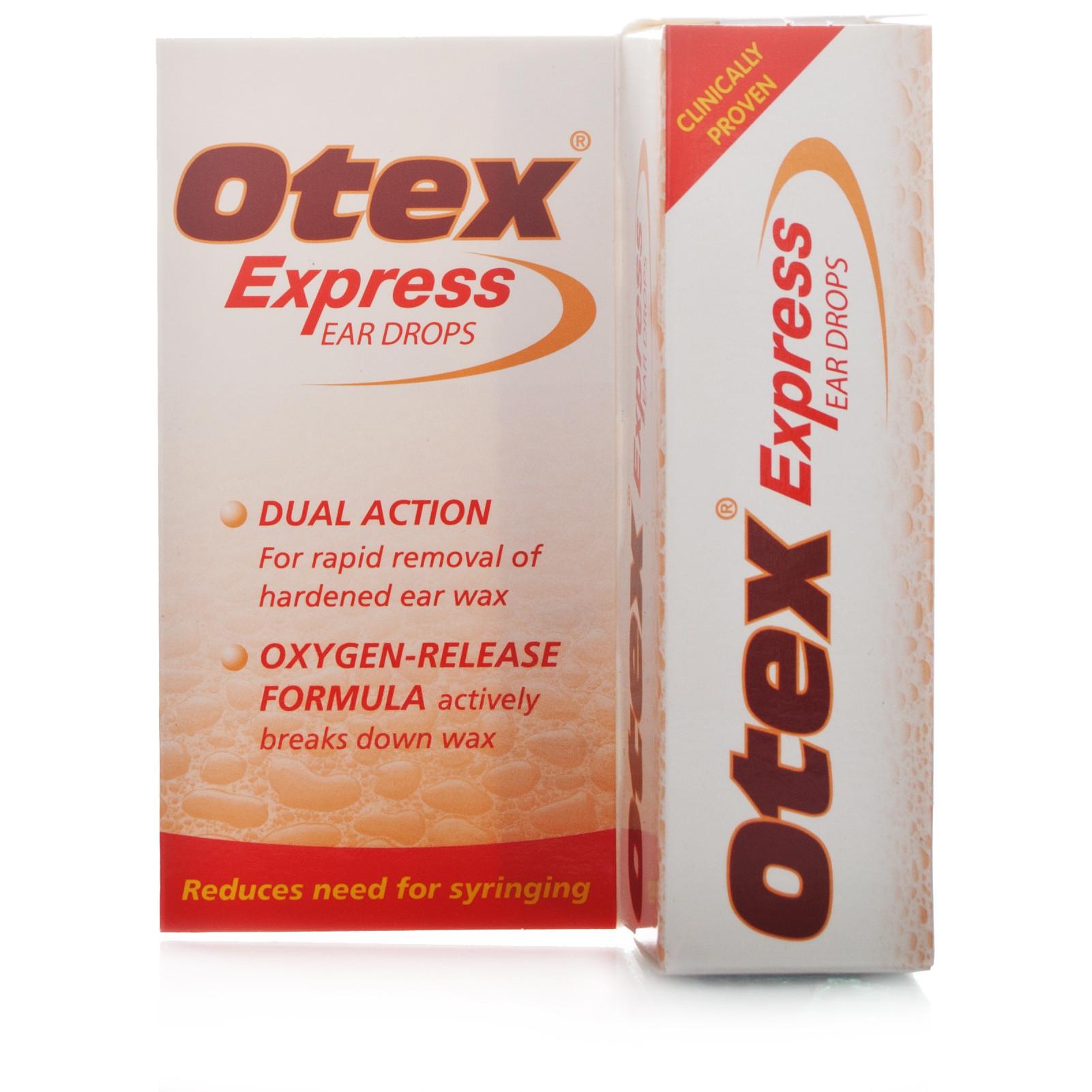 Otex Express Ear Drops