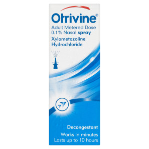 Otrivine Adult Metered Dose Nasal Spray