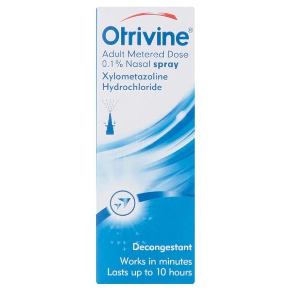 Otrivine Adult Metered Dose Nasal Spray