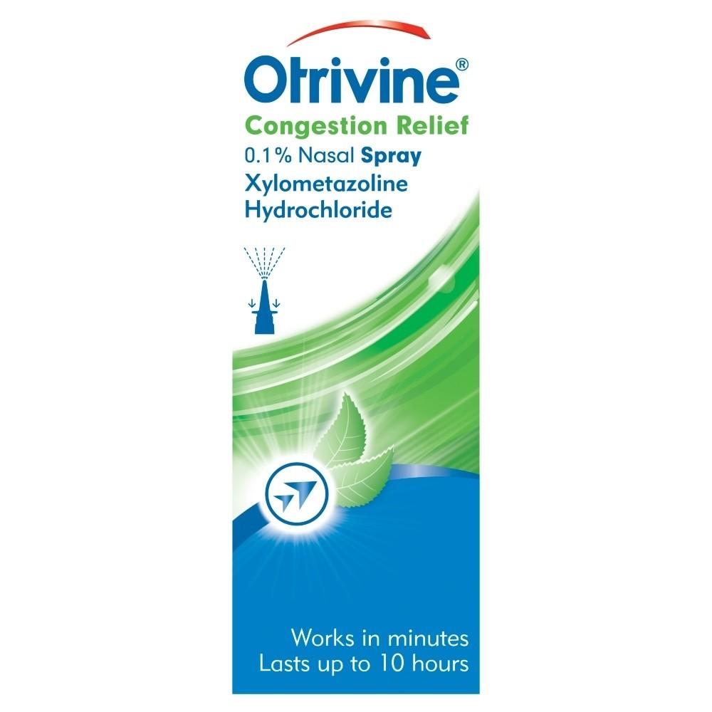 Otrivine Congestion Relief 0.1% Nasal Spray
