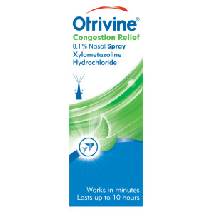 Otrivine Congestion Relief 0.1% Nasal Spray