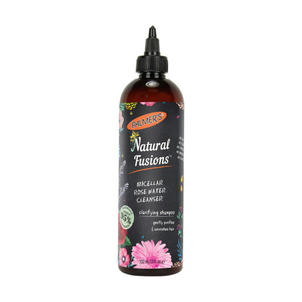 Palmers Natural Fusions Micellar Rose Water Cleansing Shampoo