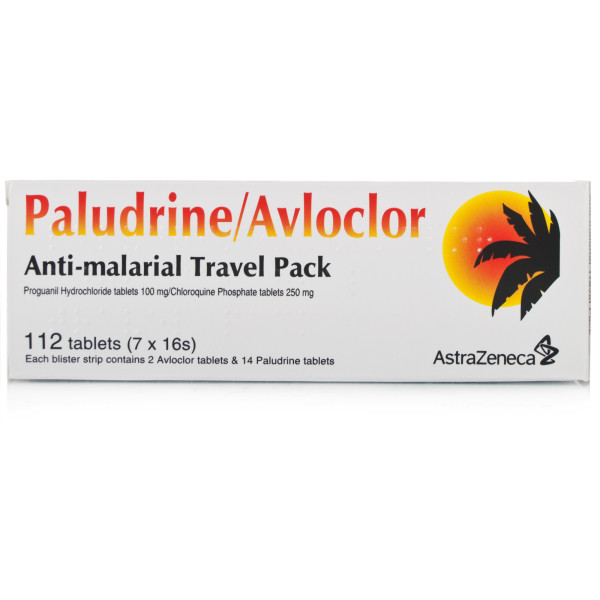 Paludrine & Avloclor Travel Pack
