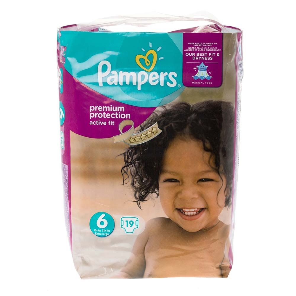 Click to view product details and reviews for Pampers Active Fit Large Size 6.