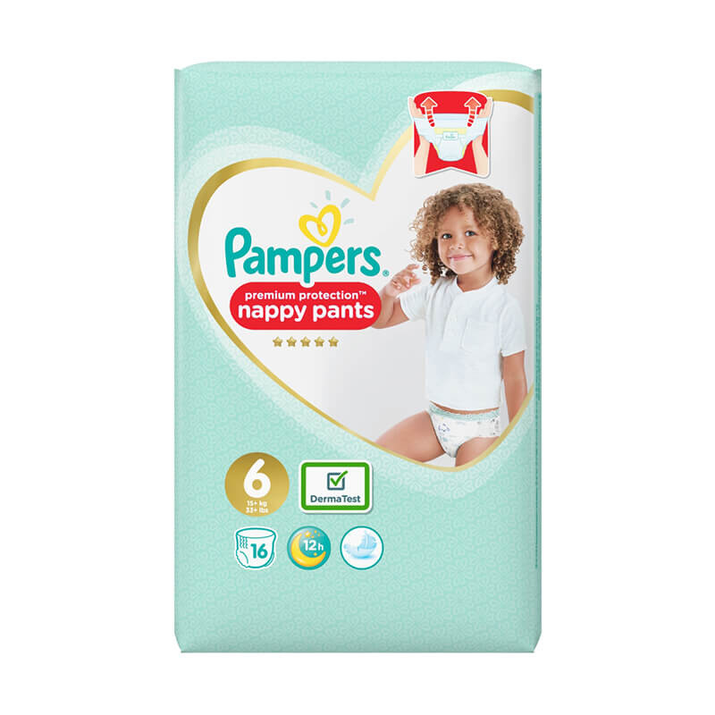 Click to view product details and reviews for Pampers Active Fit Pants Size 6.