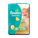 Pampers Baby Dry Extra Large Plus Size 6+
