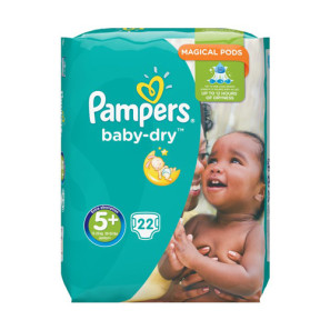 Pampers Baby Dry Junior Size 5+