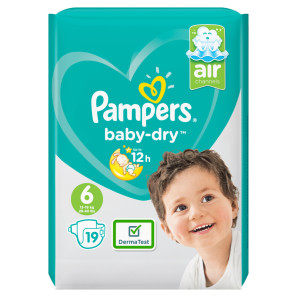 Pampers Baby Dry Large Size 6