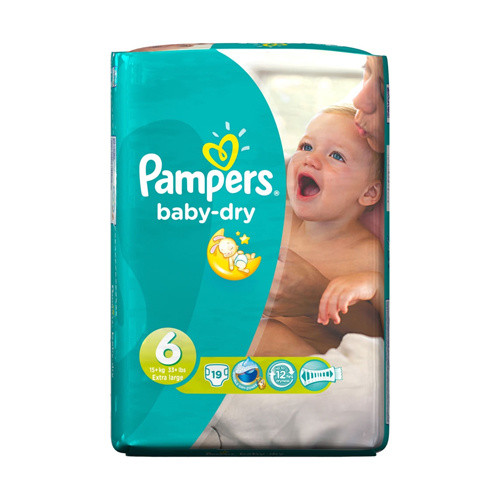 Click to view product details and reviews for Pampers Baby Dry Large Size 6.