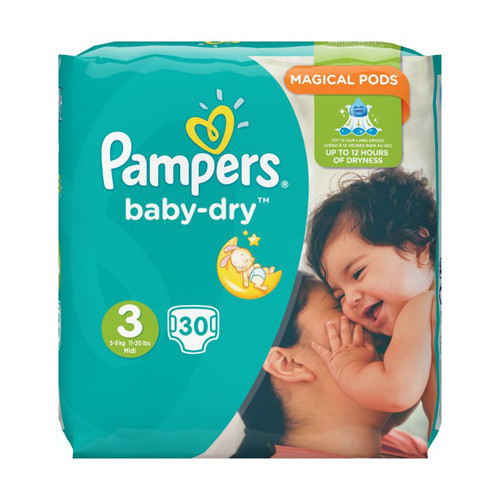 Click to view product details and reviews for Pampers Baby Dry Midi Size 3.