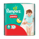 Pampers Baby Dry Pants Large Size 6