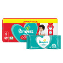 Pampers Baby Dry Pants S6 Jumbo Pack & Wipes