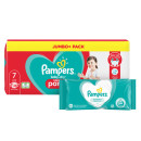 Pampers Baby Dry Pants S7 Jumbo Pack & Wipes