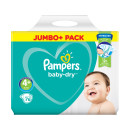Pampers Baby Dry Size 4+ Nappies