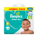 Pampers Baby Dry Size 5+ Nappies