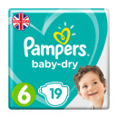 Pampers Baby Dry Size 6 Nappies