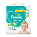 Pampers Baby Dry Size 7 Nappies