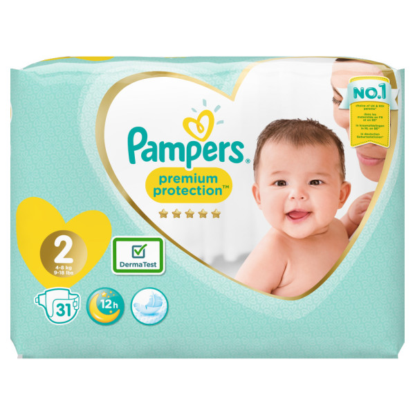 Pampers New Baby Mini Size 2 4-8KG