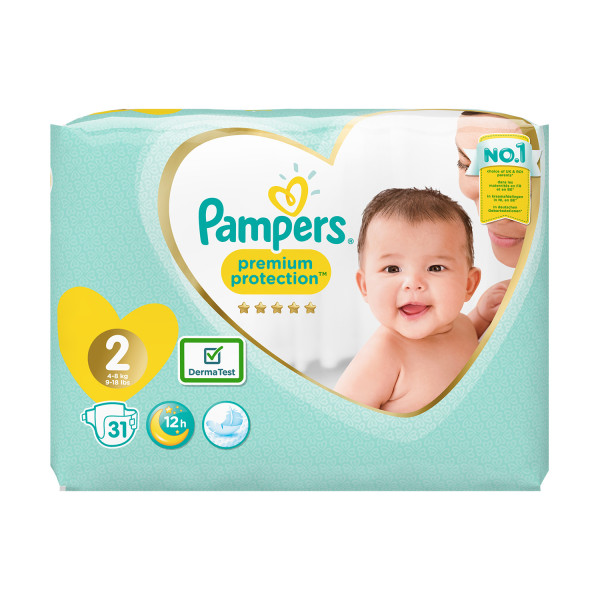 Pampers New Baby Size 2 Nappies