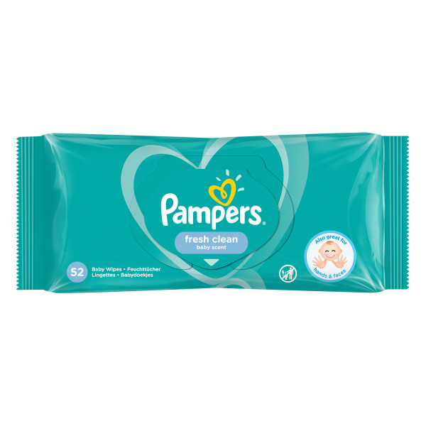 Pampers Scented Baby Wipes