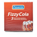 Pasante Fizzy Cola Condoms 3s pack