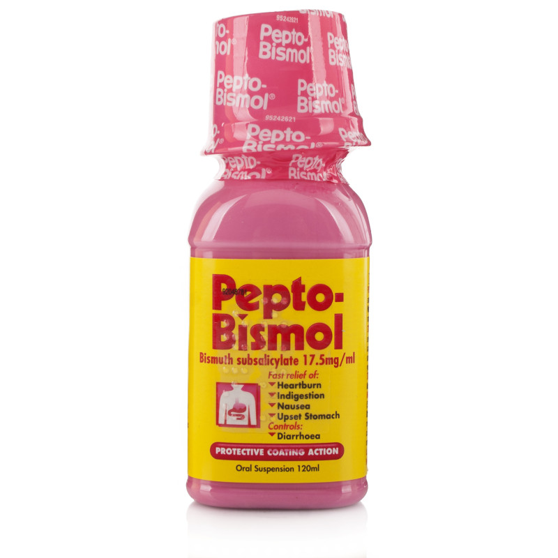 Pepto Bismol For Diarrhoea And Upset Stomach Chemist Direct