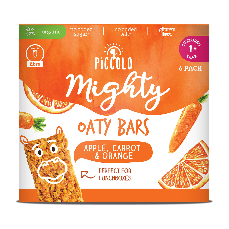 Piccolo Organic Mighty Bars Carrot & Orange