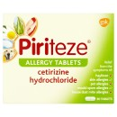 Piriteze Antihistamine Allergy Relief Tablets Cetrizine