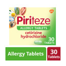 Piriteze Antihistamine Allergy Relief Tablets Cetrizine 30s