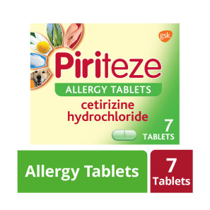 Piriteze One A Day Tablets