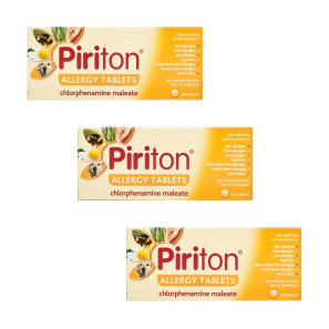Piriton Allergy Tablets- Triple Pack