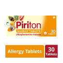 Piriton Hayfever & Allergy Tablets