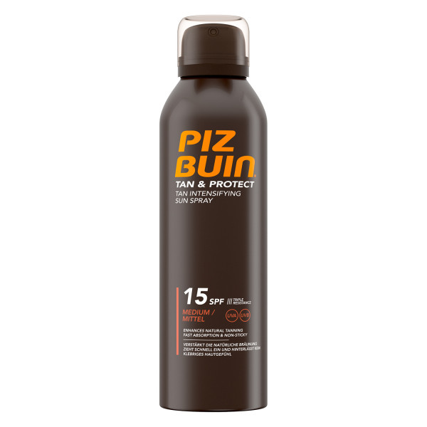 Piz Buin Tan & Protect Spray SPF15